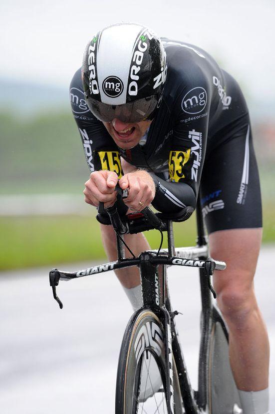 Matt Bottrill, third, National 25-mile time trial championships 2012