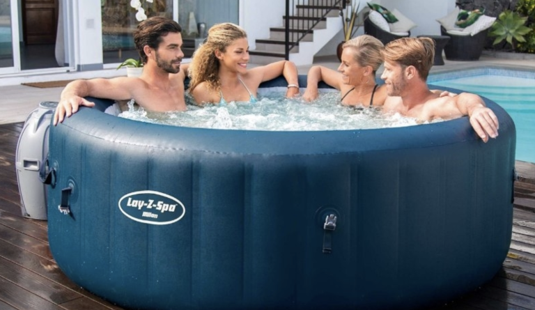 Milan hot tub by Lay-Z-Spa