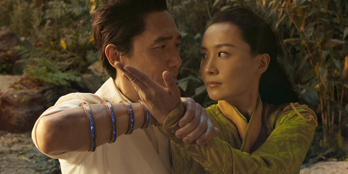 Tony Leung and Fala Chen in Shang-Chi