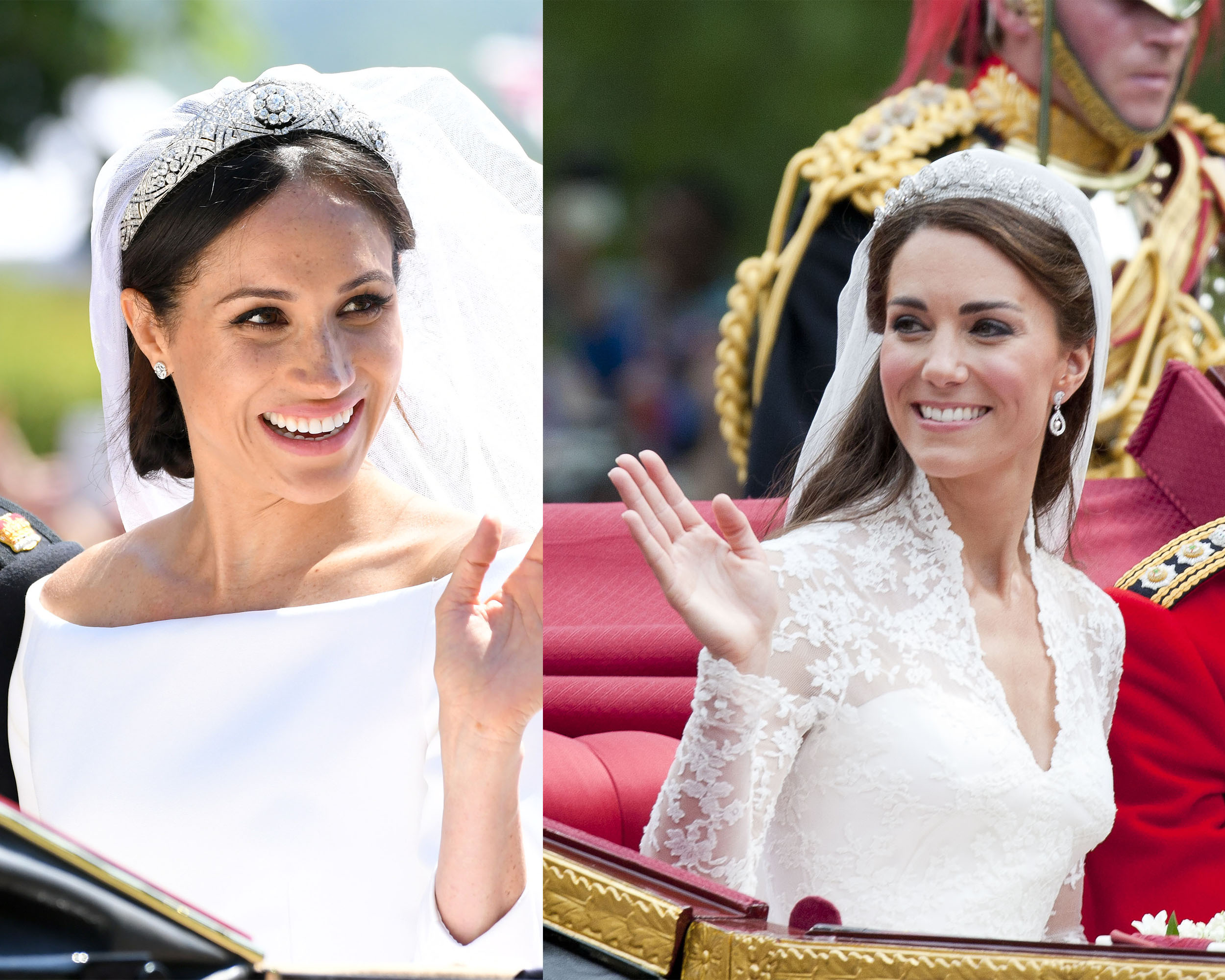 the secrets behind meghan and catherine s royal wedding looks woman home royal wedding looks