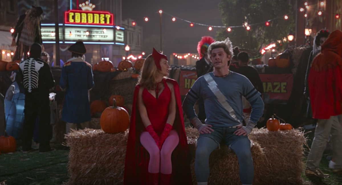 wandavision halloween episode town square scare