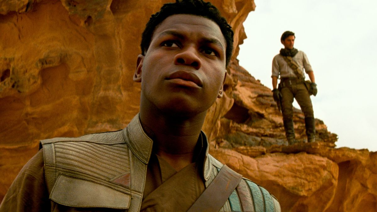 John Boyega reacts to Finn's scrapped Star Wars 9 arc