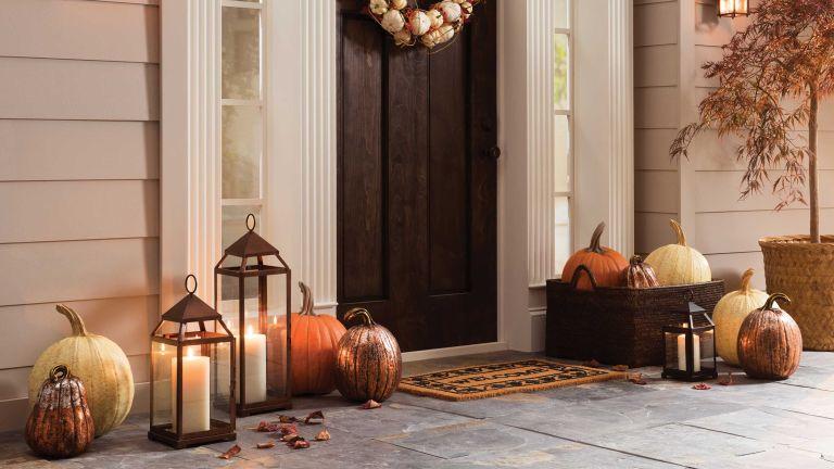 halloween door decoration ideas: decorations from wayfair