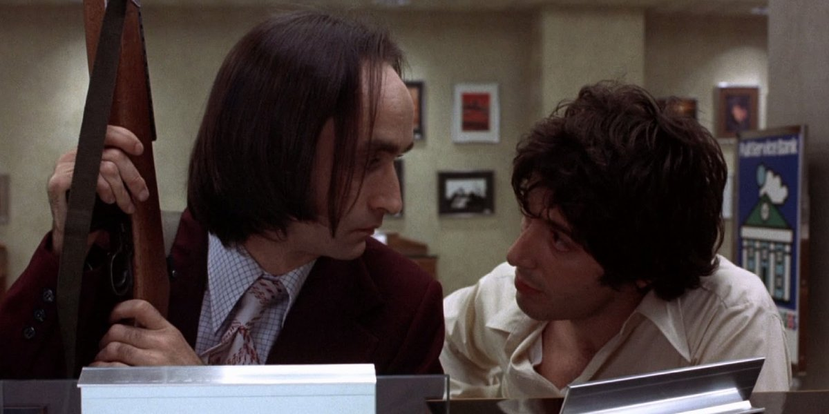 John Cazale and Al Pacino in Dog Day Afternoon