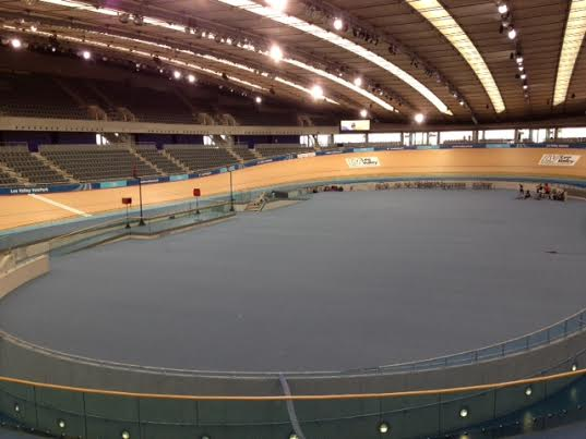 Lee Valley VeloPark launch day