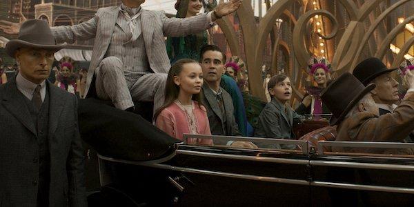 Colin Farrell Nico Parker in Dumbo