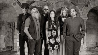 A photograph of Steeleye Span in their 2016 line up