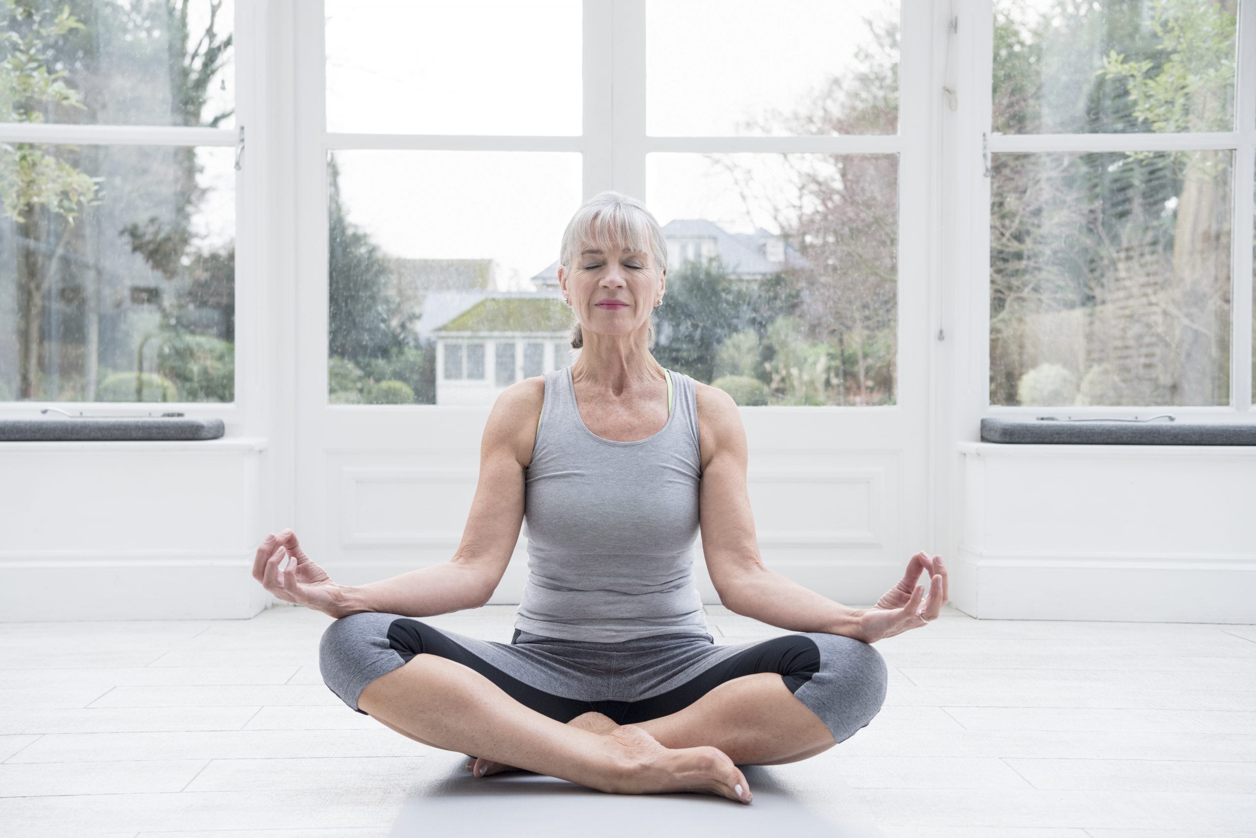 Yoga improves mental and physical health over 60s