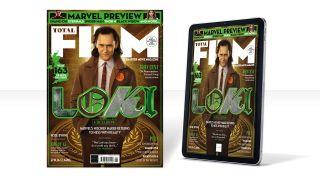 Total Film's Loki cover