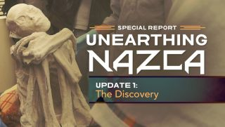 "The TV show ""Uncovering Nazca"" highlights these ""mummies"" from Peru."