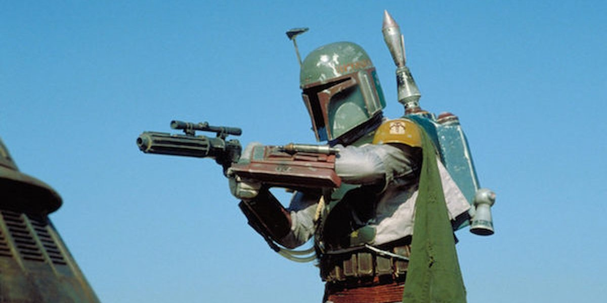 Jetpack-equipped Boba Fett in Star Wars: Episode VI - Return of the Jedi