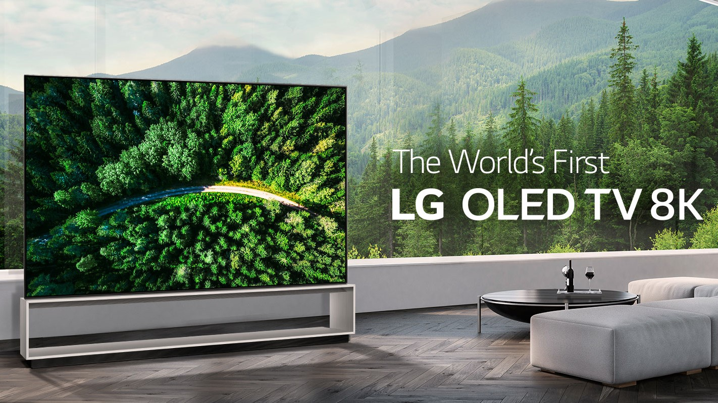 LG says its 8K is better than yours, as its 8K OLED and LED