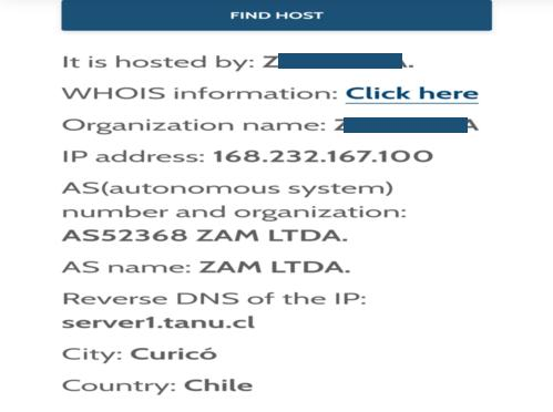 phishing alert report