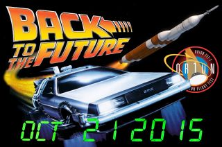 'Back to the Future' DeLorean