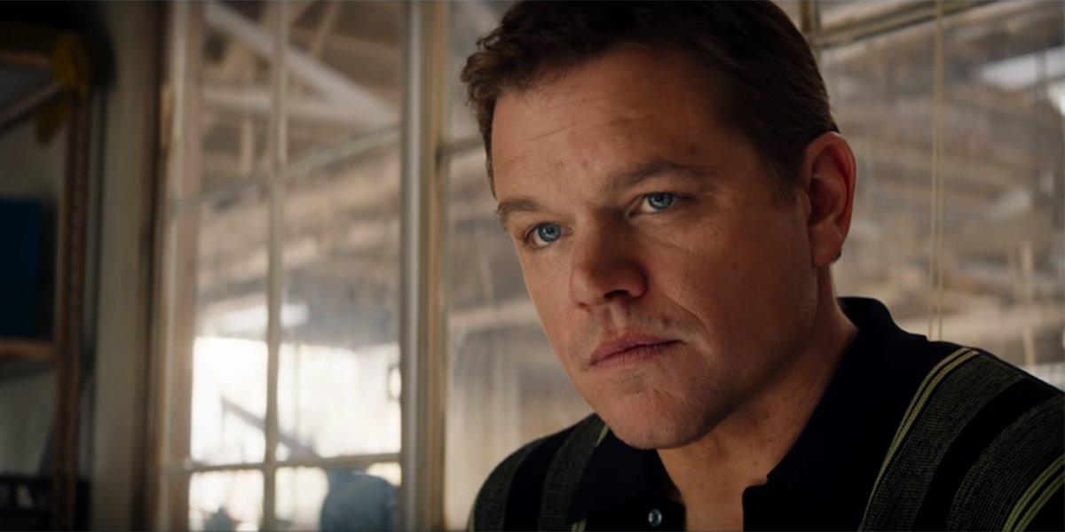 Matt Damon's Daughter Fell Asleep In Ford V Ferrari.... Twice