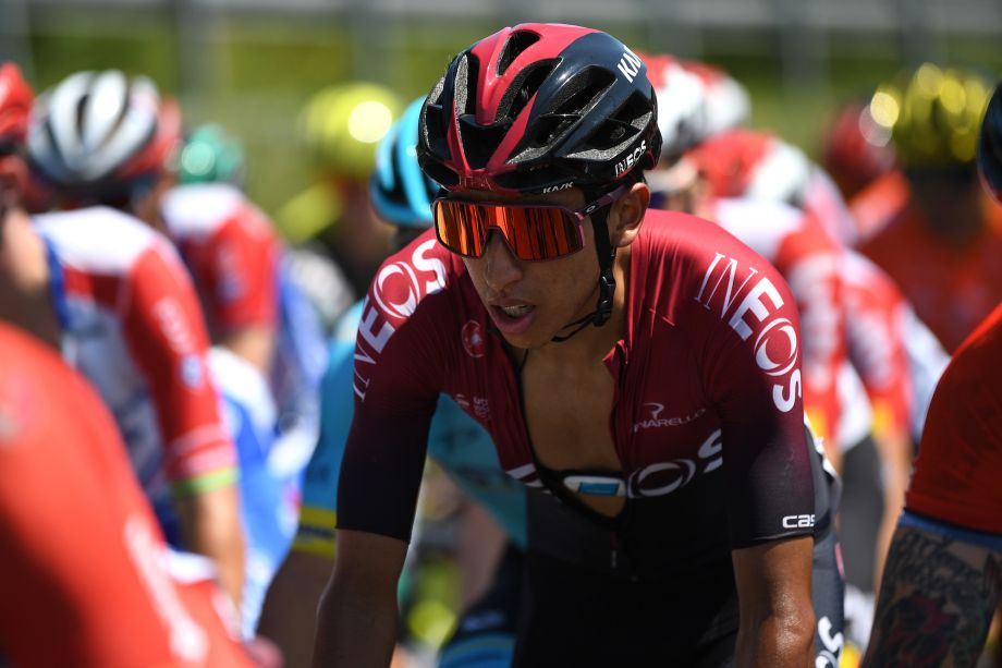 Egan Bernal takes second place on return to racing