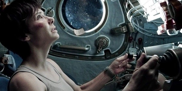 Sandra Bullock is desperate to catch her breath in Gravity