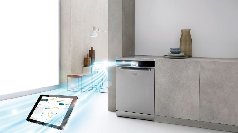 Whirlpool washing machines, tumble drier and dishwashers at AO.com