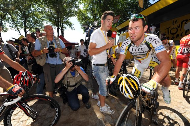 Mark Cavendish, Tour de France 2010 stage one