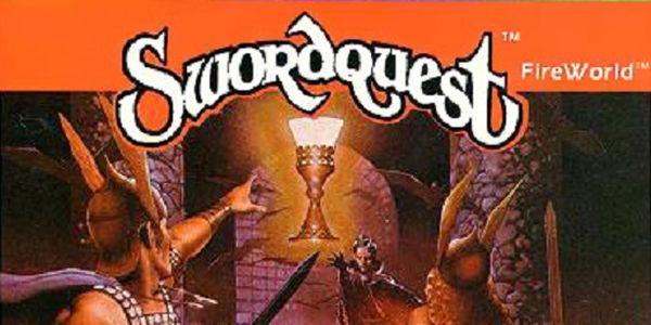 Swordquest Fireworld box art