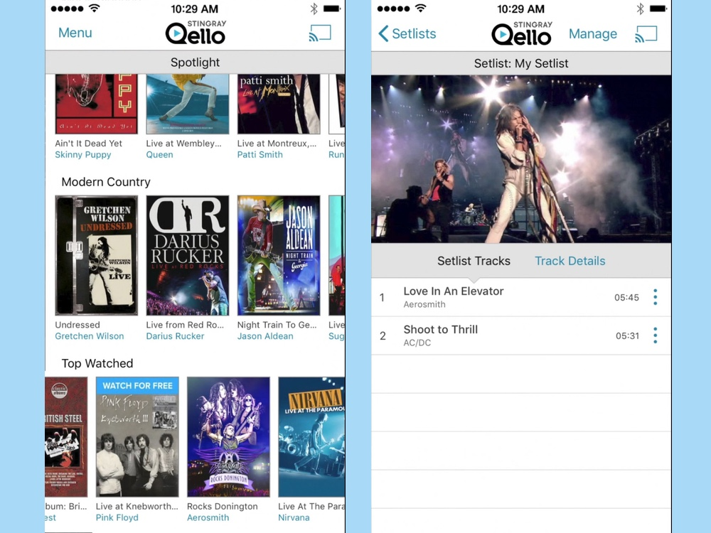 best iphone apps qello concerts and live music