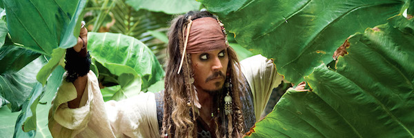 Jack Sparrow in the jungle