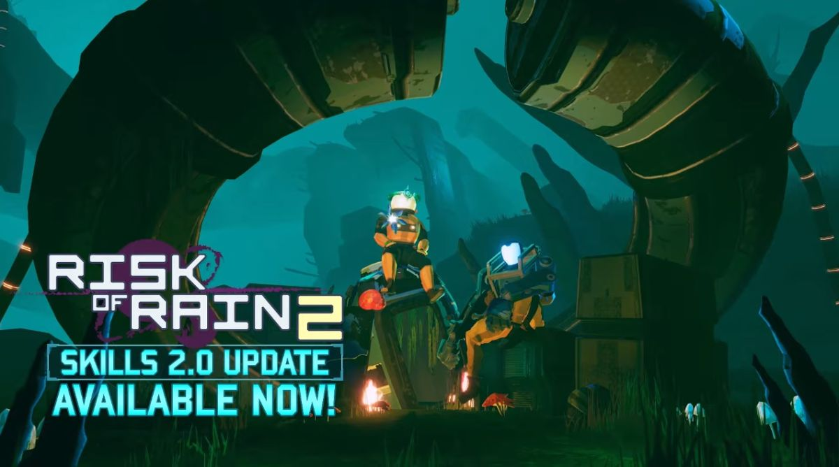 Risk Of Rain 2 Skills 2 0 Update Adds The Loader Plus New Skills And Skins For All Survivors Gamesradar The classic multiplayer roguelike, risk of rain, returns with an extra dimension and more challenging action. risk of rain 2 skills 2 0 update adds