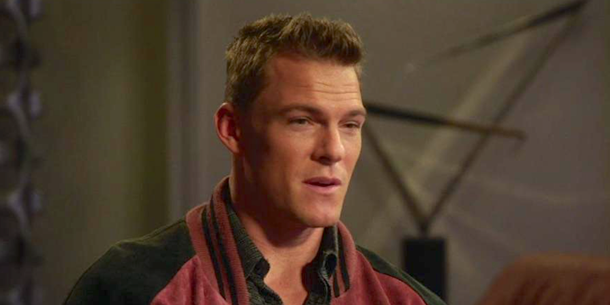 alan ritchson as young scully in brooklyn nine-nine