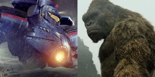 Pacific Rim Jaeger and King Kong