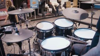 Michael Schack puts the V-Drums Acoustic Design shells through their paces