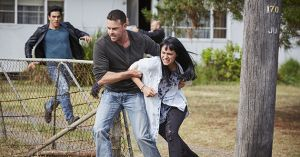 Spike kidnaps Hope Morrison and a fight breaks out in Home and Away