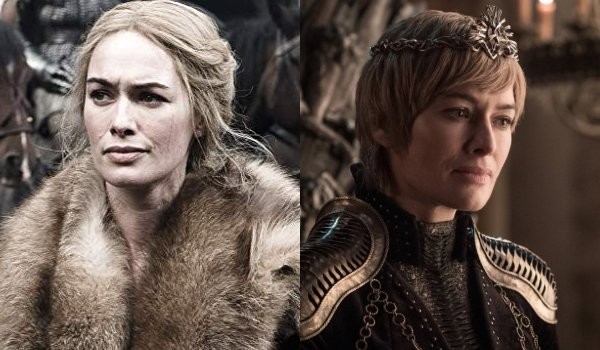 Game of Thrones Cersei Lannister Then and Now