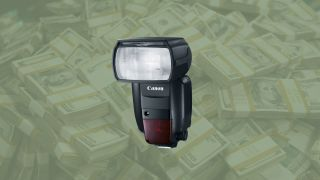 Save $180 on the Canon Speedlite 600EX II-RT
