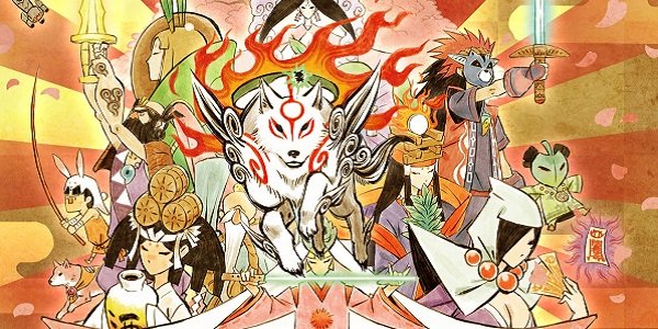 The cast of Okami.
