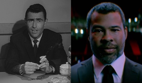 The Twilight Zone Rod Serling and Jordan Peele