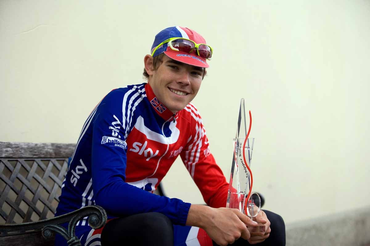 Luke Rowe GB under 23 Olympic Academy
