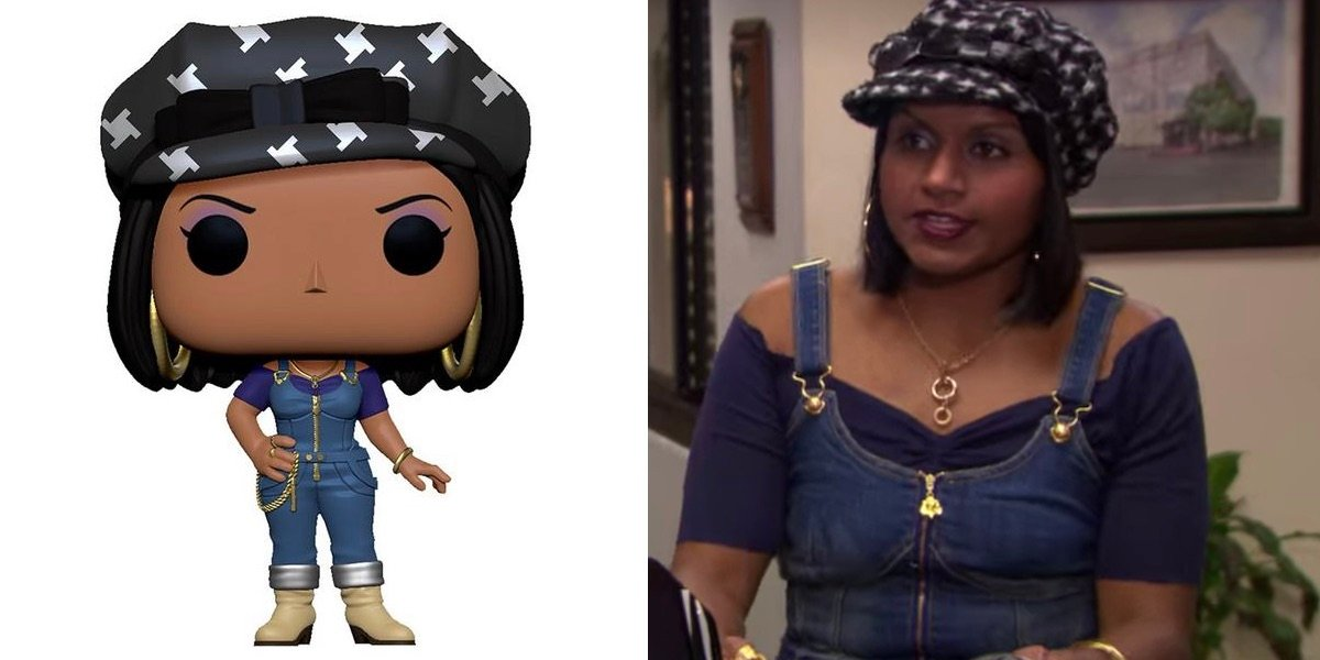 Mindy Kaling as Kelly in The Office