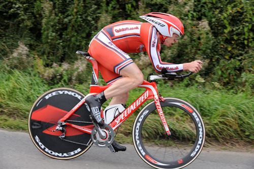 Michael Hutchinson, British Time Trial Championships 2009