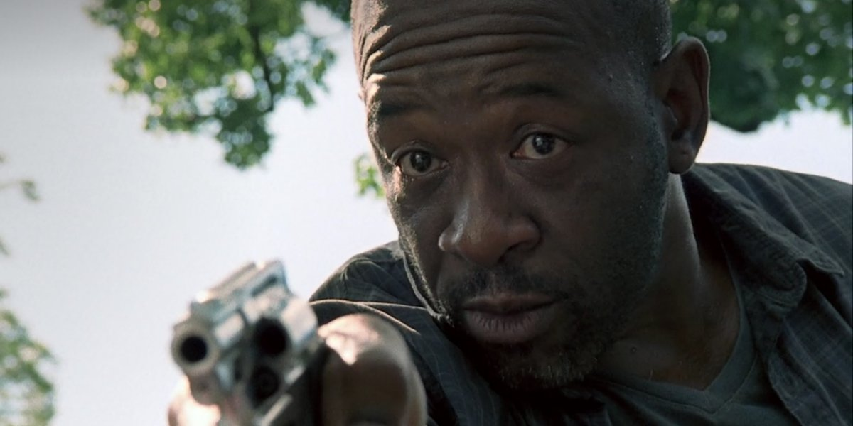 Lennie James on The Walking Dead