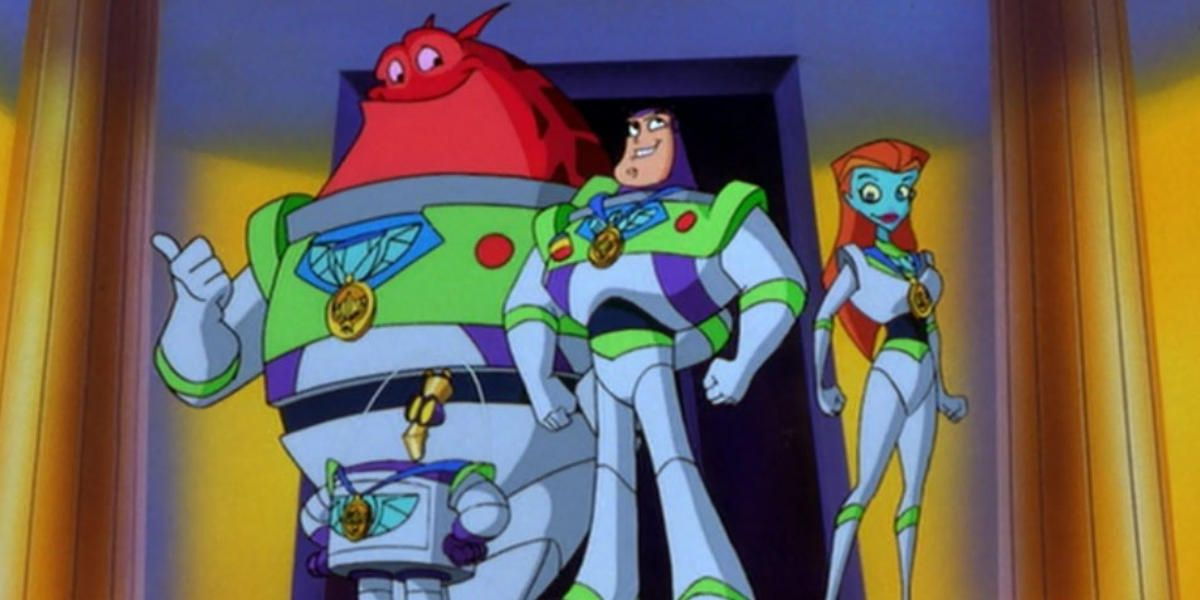 Buzz Lightyear of Star Command.