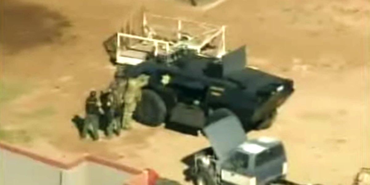 Steven Seagal's tank