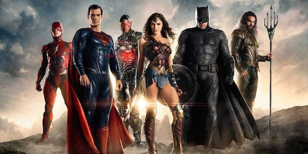 Justice league cast 2017 movie