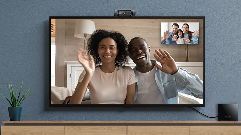 Amazon Fire TV Cube now supports video calls to Echo Show and Fire tablets