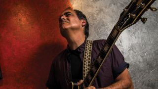 Neal Morse with his guitar