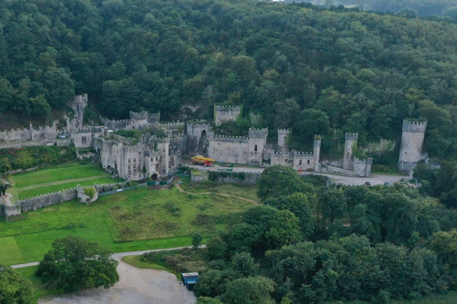 I'm A Celebrity 2020 location Castell Gwyrch in North Wales