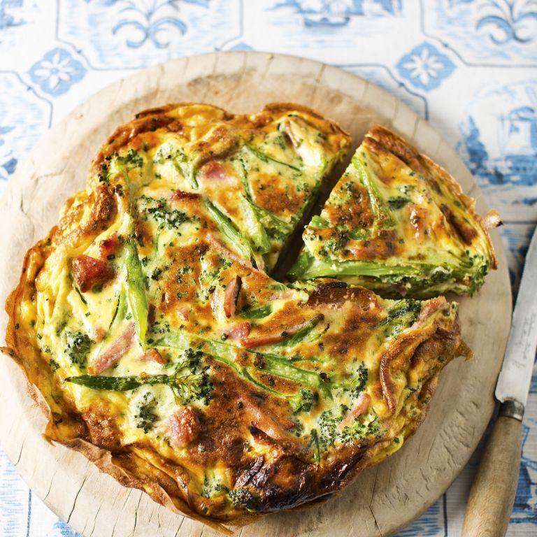 Photo of Broccoli and Bacon Frittata