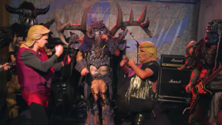 A still from Gwar's video