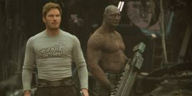 That Time Chris Pratt Hilariously Challenged Guardians Of The Galaxy Co-Star Dave Bautista To Wrestle While On Ambien