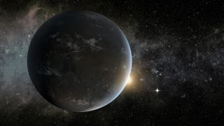 Kepler-62f Artist's Impression