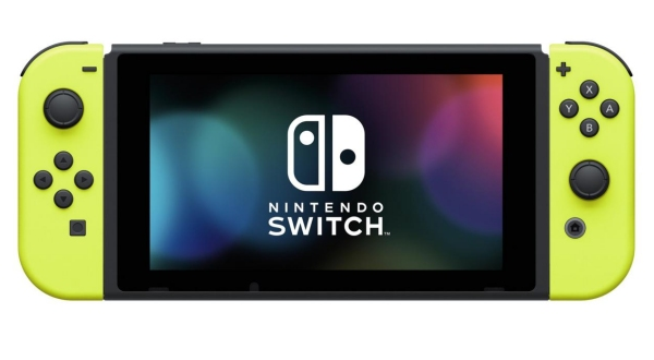 Nintendo Switch Neon Yellow Joy-Con